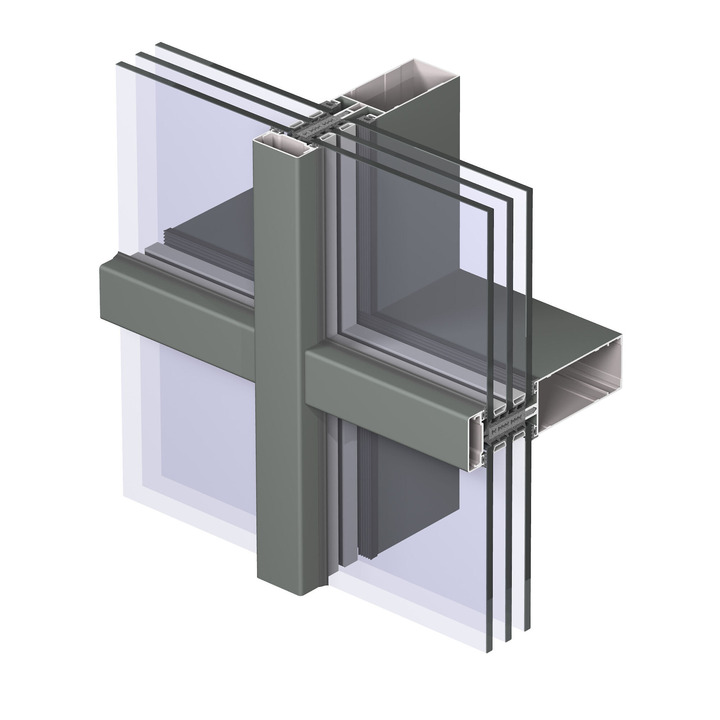 aliuminio stiklo balustradų sistemos)